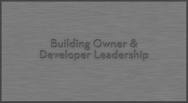 Building Owner & Developer Leadership